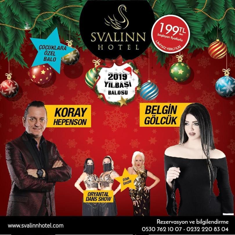 Svalinn Hotel İzmir Yılbaşı Programı 2019
